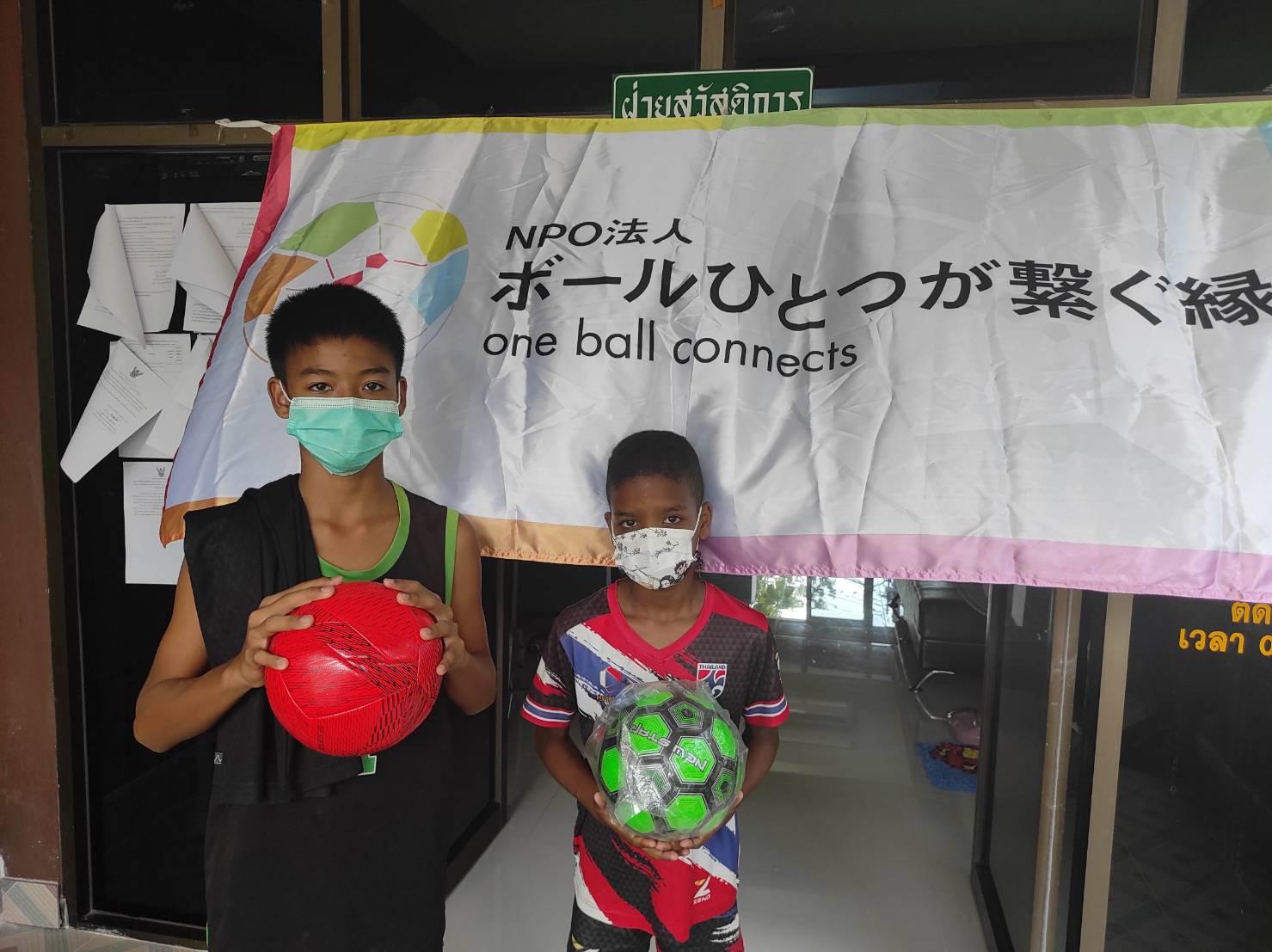 写真 NPOボールひとつが繋ぐ縁14 タイ王国 バンコク bannmahamek LIVE支援(2021年4月17日)