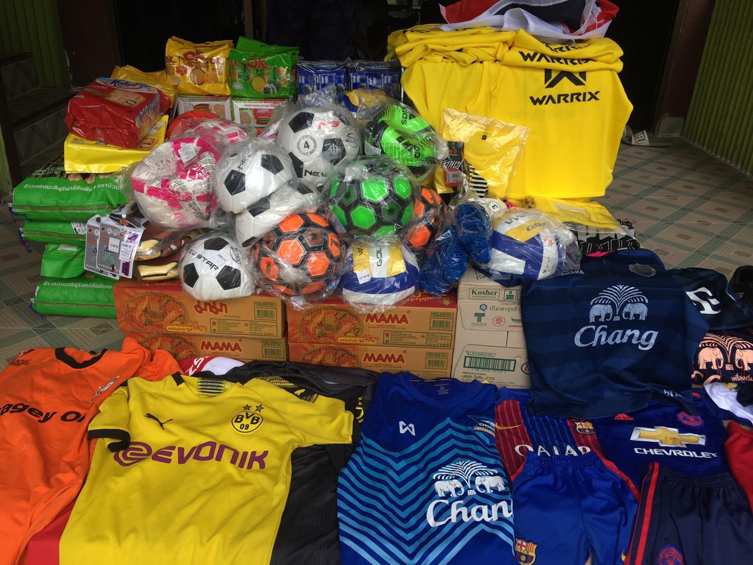 NPOボールひとつが繋ぐ縁15 タイ王国 バンコク bannmahamek LIVE支援(2021年4月17日)