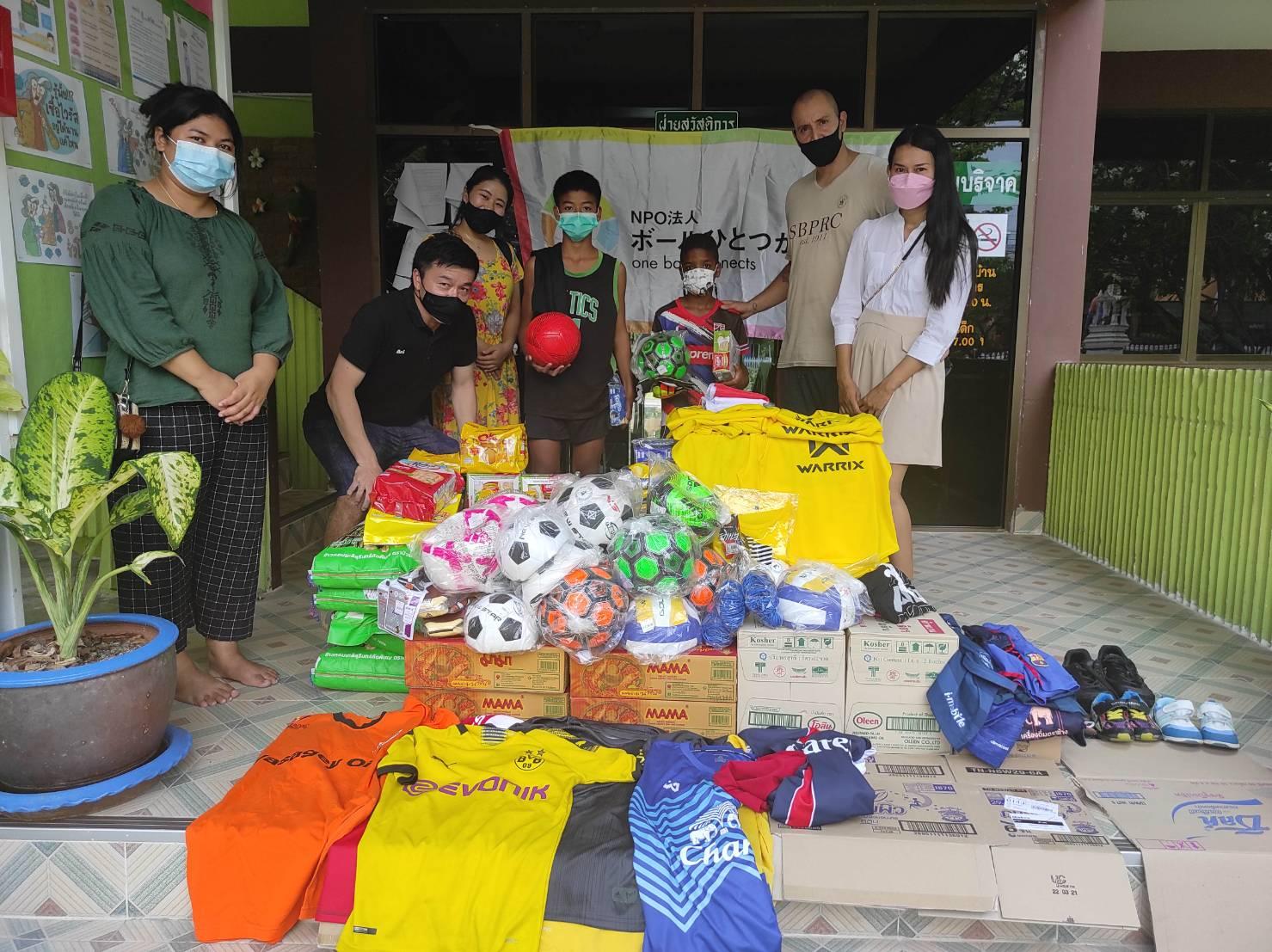 NPOボールひとつが繋ぐ縁16 タイ王国 バンコク bannmahamek LIVE支援(2021年4月17日)