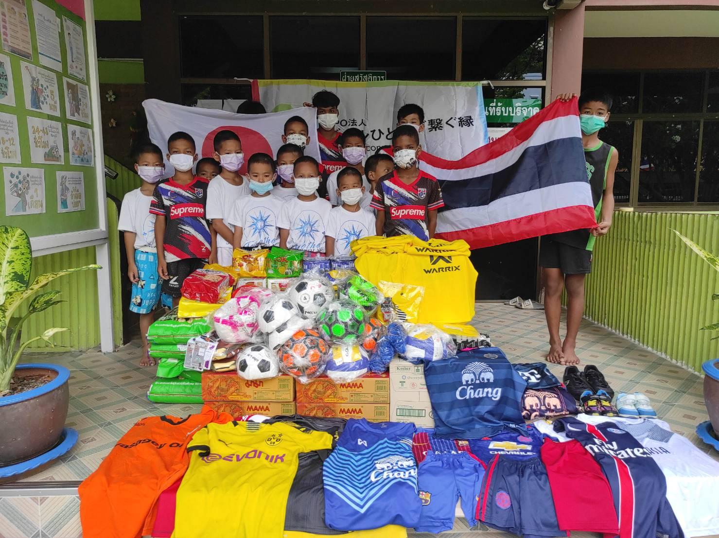 タイ王国 バンコク bannmahamek LIVE支援(2021年4月17日)